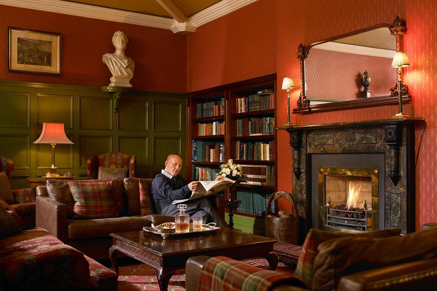 Killarney Park Hotel Library