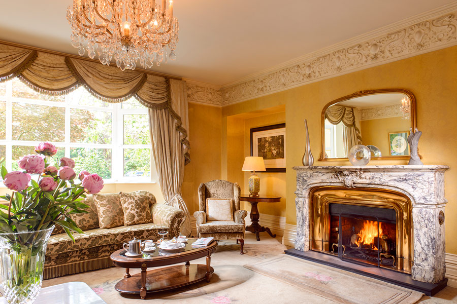 The Drawing Room at the Killarney Park Hotel
