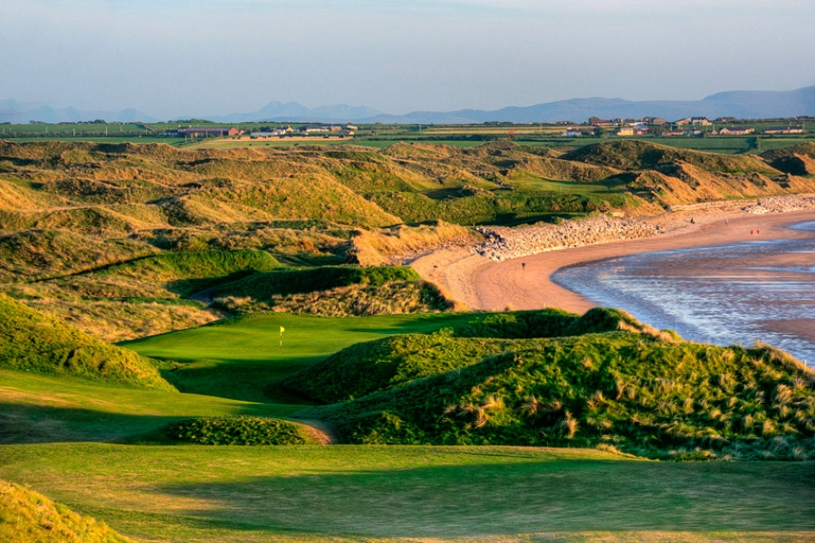 The classic Ballybunion Golf Links, Co Kerry