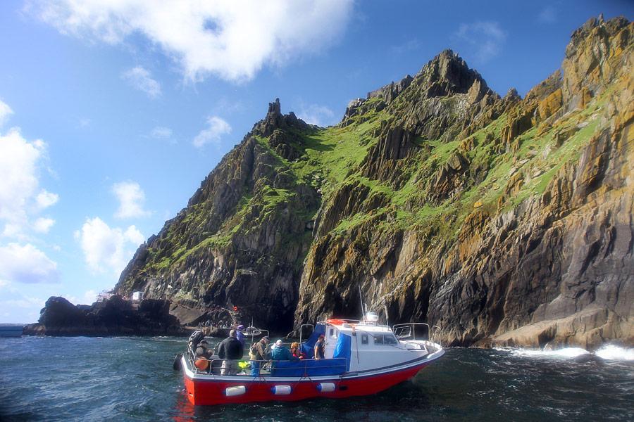 Skellig Michael boat trip