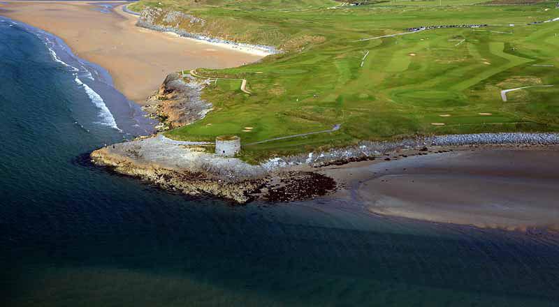 Tralee Golf Aerial