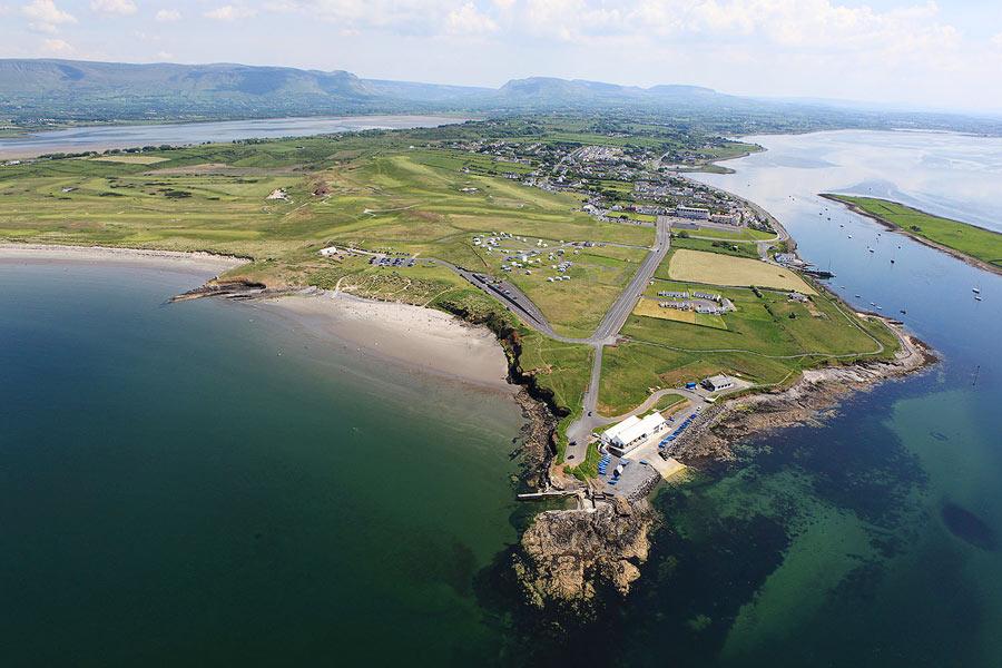 County Sligo Golf Club aerial