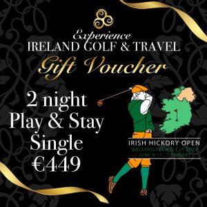 Irish Hickory Open Gift Voucher