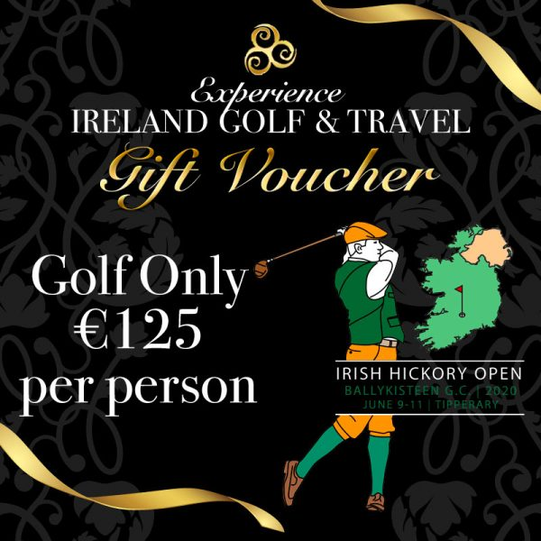 Irish Hickory Open Gift Voucher