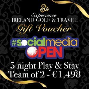 Social Media Open Gift Voucher
